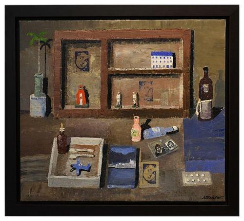 Ignacio Iturria, frangelico, 2012. Oil on canvas. 80 x 70 cm. 31.4 x 27.5 In