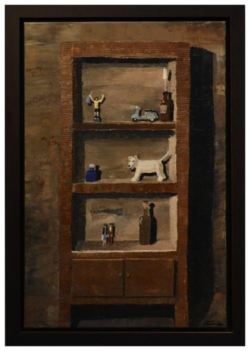 Ignacio Iturria. La Vespa, 2012 Oil on canvas. 80 x 60 cm. 31.4 In